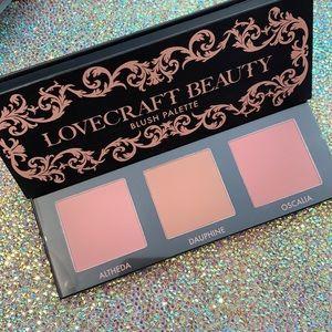 LOVECRAFT BEAUTY blush palette